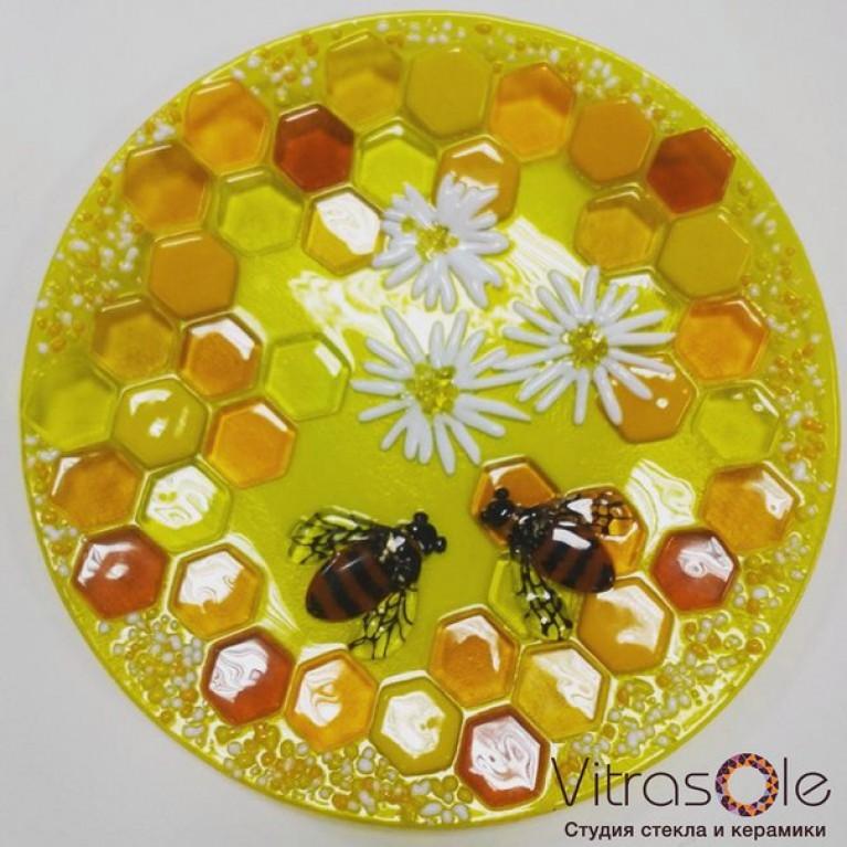 "Plate ""Honey Life"""