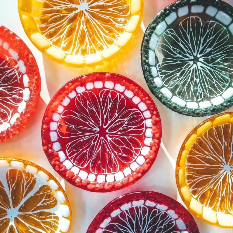 "Plate ""Citrus mood"""