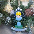 "Christmas tree toy ""Snow Maiden"""
