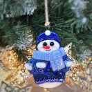 """Christmas toy """"Snowman in a sweater"""""""